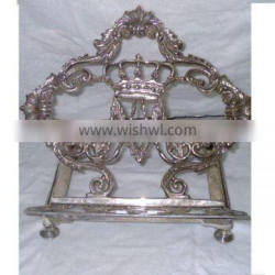 Bible Stand Silver Plated