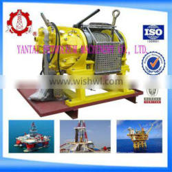JQH series 5tons air hoist used on boat with muffler