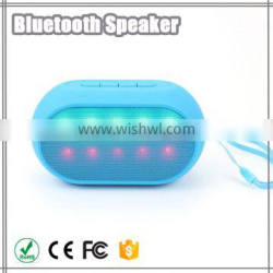 China mobile phone bluetooth speaker with led light