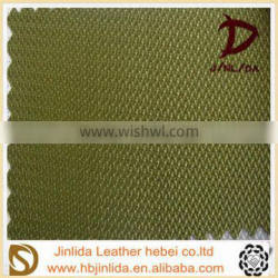 knitted high quality pvc leather for luggage
