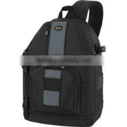 high quality nylon camera bags/backpacks with interior removable padding slider