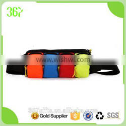 High Quality Multifunctional Canvas Foldable Waist Bag with Four Colour Pocket