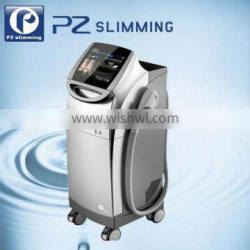 PZ LASER 2013 NEW 4 IN 1 multifunctional beauty machine WITH IPL,RF,E-light,Laser FOR hair removal/rf wrinkle removal