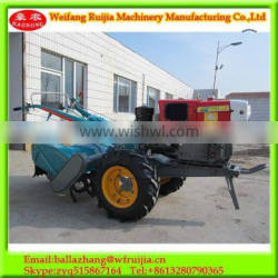 Best product for import farm hand tractor ,double speed rotovator used 22HP walking tractor