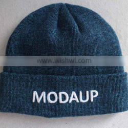 Fashion modern winter hats knitting beanie hat