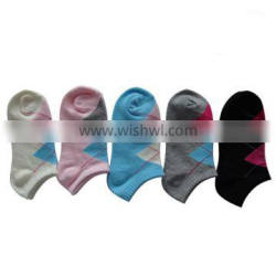 GSW-06 custom design colorful ankle socks wholesale