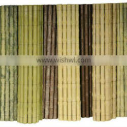 UV protective Outdoor bamboo garden fencing _ GreenShip