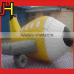 Kids Airplane inflatable carton ,inflatable toys for sale