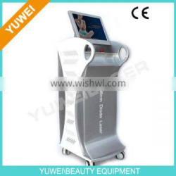YUWE 2014 High Power Depilation CE Approved Wholesale 808nm Diode Laser Hair Removal System