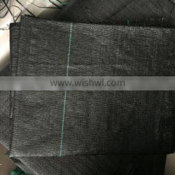 Pp weed control mat ground mat roll pp black fabric on rolls ground cover