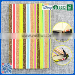 2016 free sample rianbow color notebook for kids