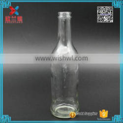 9oz clear glass bottle for wine clear glass bottle for wine 260ml