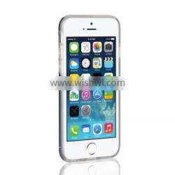 Custom for iphone 5/5s metal case ,aluminum case with tpu bumper for iphone 5/5s