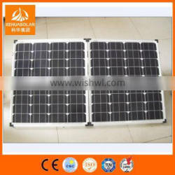 100W Mono Poly crystalline Portable Solar Kit Foldable Solar Kit