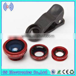 180 Degree Fisheye Lens ,0.67x Wide Angle , Marco Lens For Samsung Galaxy S4 Camera Lens