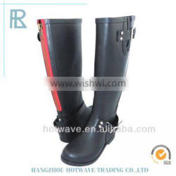2016 new style lady's fashion rainboots/rubber boots