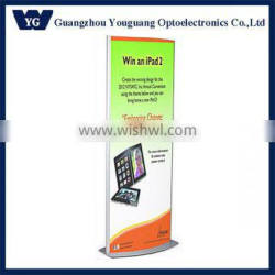 Stand up light box, ground stand light box, free standing light boxes