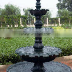 3 tier cast iron outdoor water fountains HS-F-39