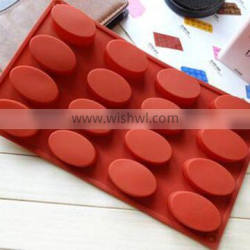 eco-friendly material silicone material ice tube tray multi size