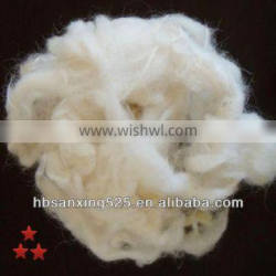 60-110mm UK Scoured wool use for blanket and carpet yarn