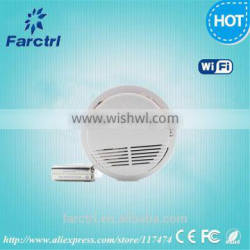 2015 Stable Photoelectric Wireless Smoke Detector with Battery High Sensitive Fire Alarm Sensor Monitor for Home Security
