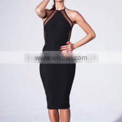 European Fashion Backless Bodycon Dresses Sexy Package Hip Dress For Sale 2016