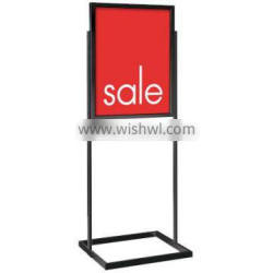 """Metal Bulletin Standing Graphic Frame - for 22""""W x 28""""H price-off promotions Posters"""