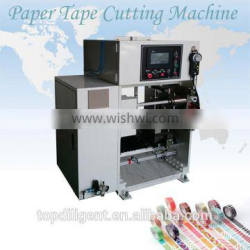 Auto Mini Paper Tube Printed Pattern Tape Cut Roll Machine