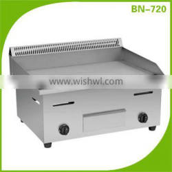 Restaurant Equipment Commercial Non-stick Counter Top Flat Gas Griddle BN-720