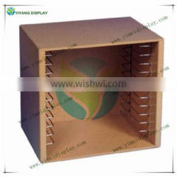 Deluxe Natural Wood Puzzle Storage Case M4093W