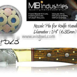 "Mosaic Pins for Knife Handles MP523 (1/4"") 6.35mm"