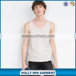 Comfort casual organic cotton tank tops wholesale