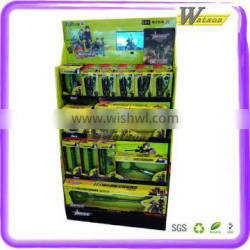 POP promotion cardboard mobile phone displays with lcd display stand
