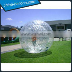 inflatable zorb ball, giant inflatable bumper ball, body zorb ball for sale