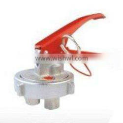 out thread valve for fire extinguisher