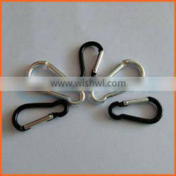 Factory price zinc plated carabiner
