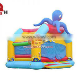 QHIBH04 Colorful Commercial Inflatable Bouncer House