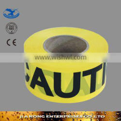 Factory direct supply non adhesive Caution Tape OP013-3