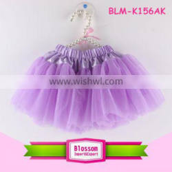 Latest fashion pettiskirts children tulle fabric skirts kids tutu skirt professional ballet tutu