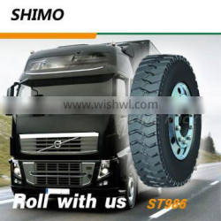 Powerful gripping ability 10.00r20 truck and bus tire