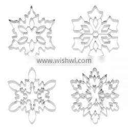 Promotion Snowflake Metal Christmas Cookie Cutters with Cheap Price