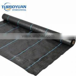 Agricultural plastic weed barrier mat uv resistant PP black ground cover