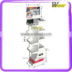 POP high customized Floor standing cardboard display for chewing gum