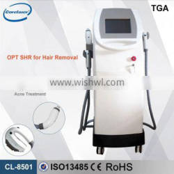 2016 big promotion!!! medical CE approved shr ipl depilator for whole body unwanted hair removal