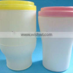 Plastic pe packing box,plastic container for baby wipes