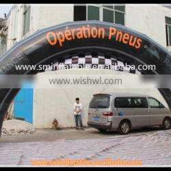 high quality china cheap inflatable running arch , leaping arches for sale