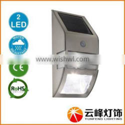 wholesale hot selling LED motion sensor solar wall lamp solar wall light solar wall light with sensor