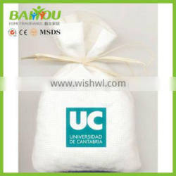 low cost custom-made christmas promotional gift linen sachets lavender bags