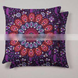 Indian 2017 New Mandala Square Cushion Cover Floor Pillow Case Tapestry Meditation Pillow Case