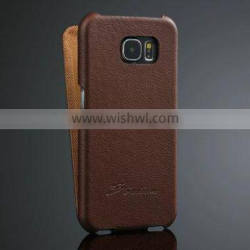 For Samsung Galaxy S6 Luxury Leather Case,Mobile Phone Leather Case For Samsung Galaxy S6, Real Leather Case